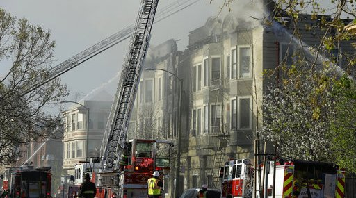 Oakland Building Fire