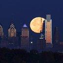 Supermoon Philadelphia