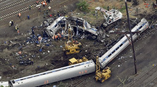 Amtrak Crash Philadelphia