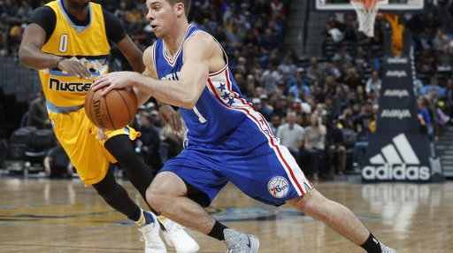 76ers Nuggets Basketball