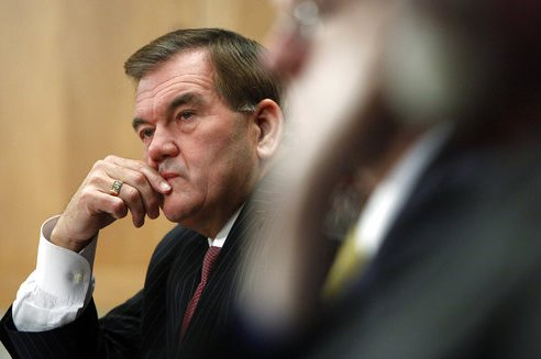 Tom Ridge-Hospitalized
