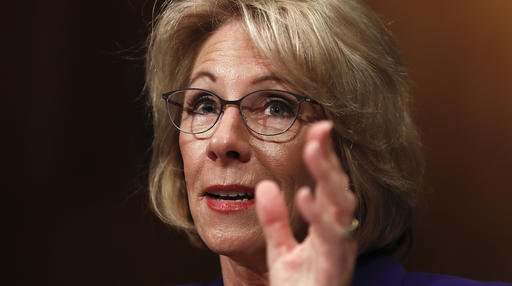 Betsy DeVos education secretary