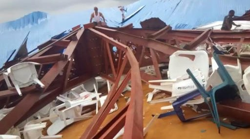 Nigeria Collapsed Church