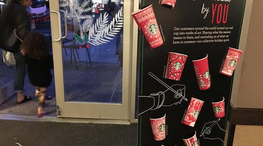 Starbucks-Holiday Cups