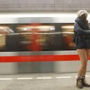 Czech Republic No Pants Subway Ride