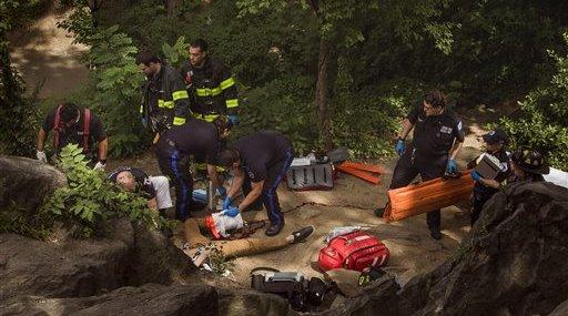 Central Park Man Injured