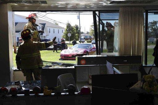 ODD Car Crashes into Newsroom