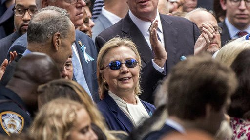 Campaign 2016 Clinton Return