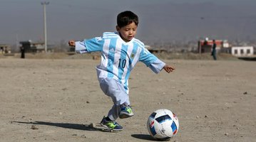 Afghanistan Messi Fan