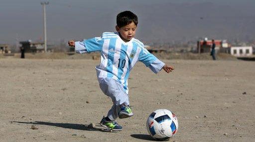 Afghanistan Messi Fan