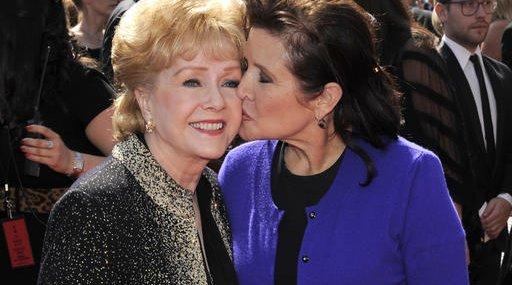 APTOPIX Debbie Reynolds