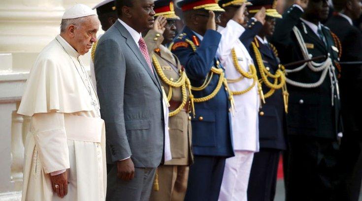 POPE-AFRICA-KENYA