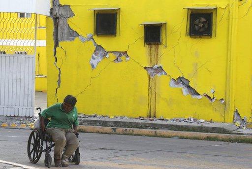 APTOPIX Mexico Earthquake