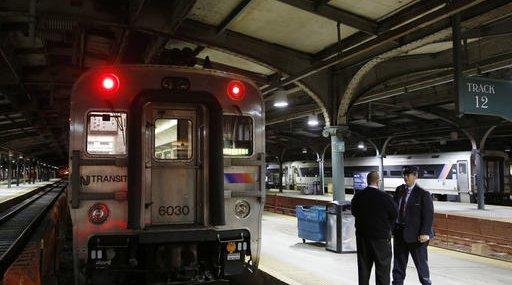 NJ Transit Train hoboken