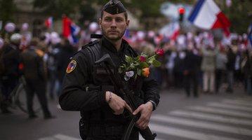 France Paris Police Shot