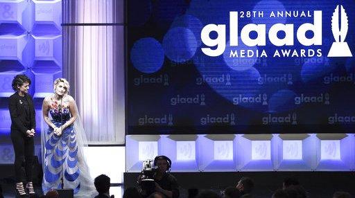 APTOPIX 28th Annual GLAAD Media Awards - Show
