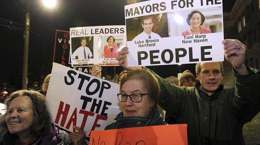 Immigration Protests-Bridgeport