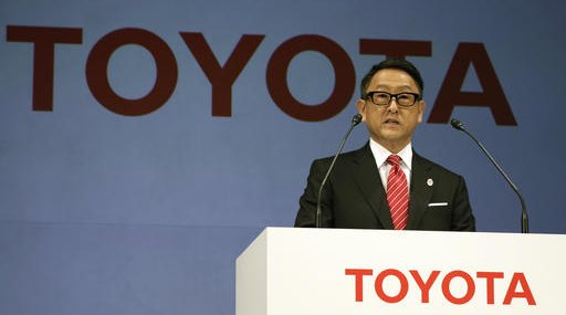 Japan Toyota Trump