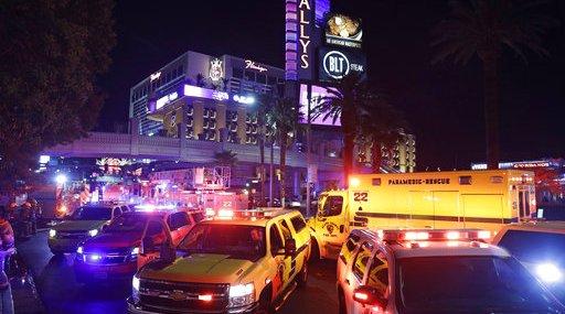 Las Vegas Bellagio Fire