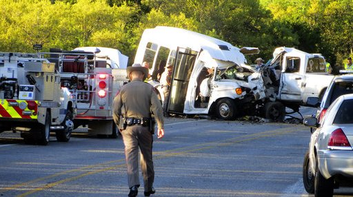 Church Van Crash Texas