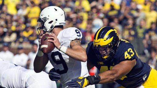 Penn St Michigan Football
