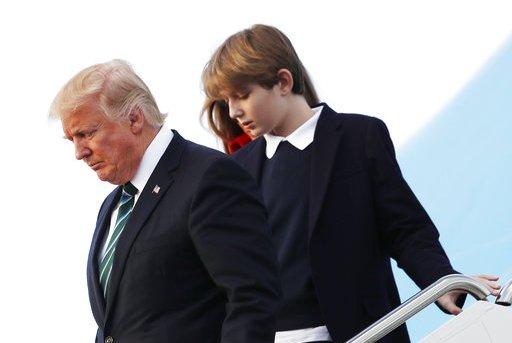 Melania Trump Barrons School