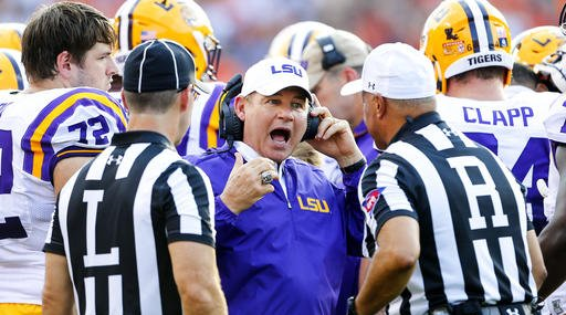 LSU-Miles Fired Football