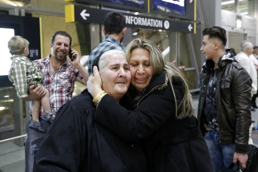 APTOPIX Trump Travel Ban A Refugees Journey