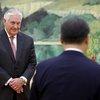 China US Tillerson