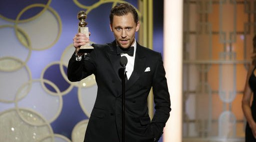 Tom Hiddleston Golden Globe Awards