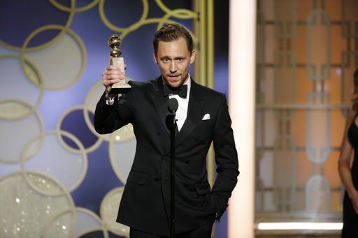 Tom Hiddleston Golden Globe Awards