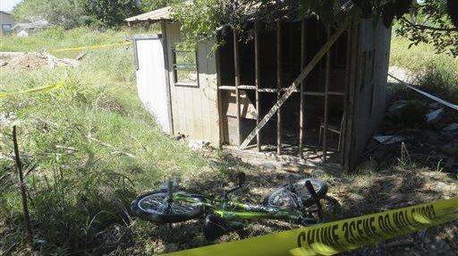 Texas-Boy Burned