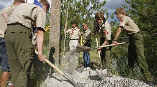 Mormons Boy Scouts