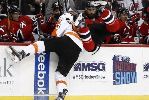 Flyers Devils Hockey