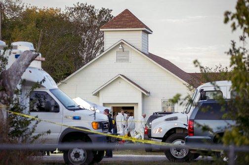 APTOPIX Church Shooting Texas
