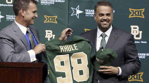 Baylor Rhule Football