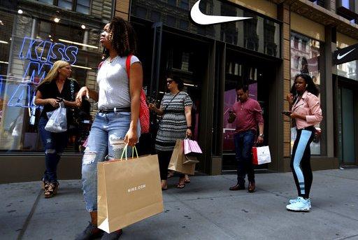 APTOPIX Nike Job Cuts