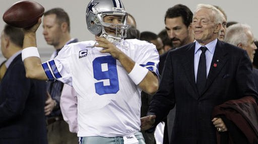 Cowboys Jerry Jones Football