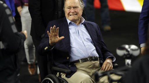 George HW Bush Hospitalized