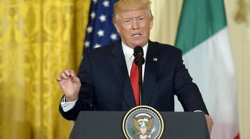 Trump US Italy