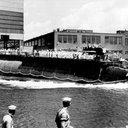 Submarine Sinking Burial at Sea