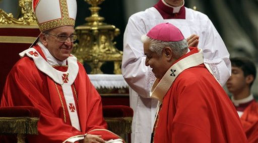 Vatican Pope New Cardinals