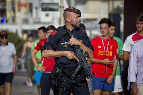 APTOPIX Spain Attacks