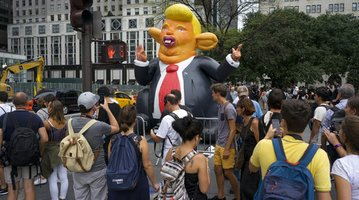 Trump Tower Protests