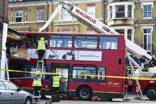 Britain Bus Crash