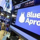 Financial Markets Wall Street Blue Apron