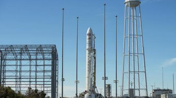 Antares Rocket Raising