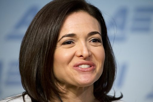 Sheryl Sandberg women workplace