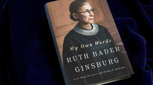 Supreme Court Ginsburg Book