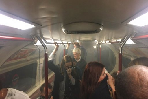 Britain Subway Station Evacuated
